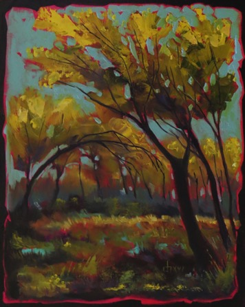 Autumn Along the Highwood River  sold