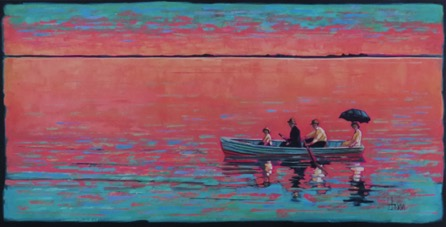 Boat Song 24 x 48   oil on canvas  $2300