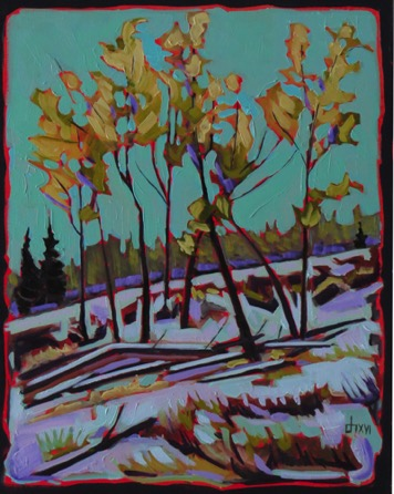 First Snow-Highwood  16 x 20 sold