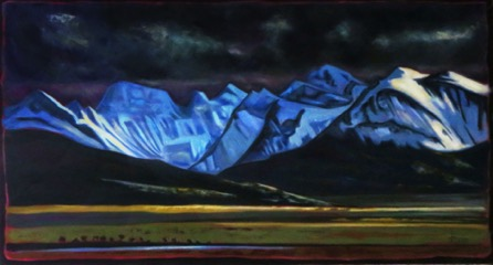 Light from the West, East of Waterton  sold