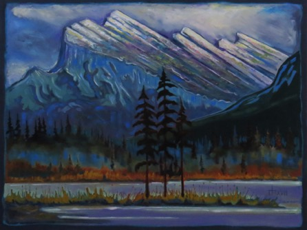 November Rundle  35 x 48 oil on canvas $3300