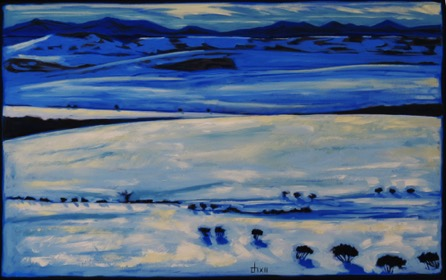 Snow Field II, West of Hartel sold